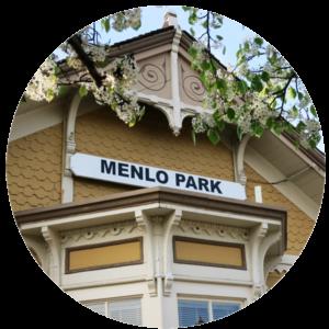 Menlo Park Train Station